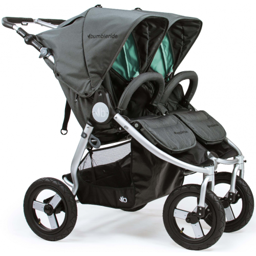 Bumbleride Indie Twin Dawn Grey Mint
